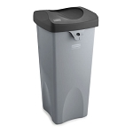 WASTE RECEPTACLE GRAY 23 GAL