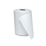 DISPENSER ROLL TOWEL  White  6 rolls / 800 feet case  2