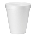 HOT FOAM CUP  8 oz