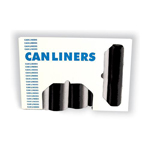 LINER 24X24 BLK ROLL 1000CT 6M