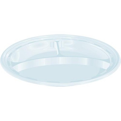 101/4 DIVIDED PLASTIC PLATE