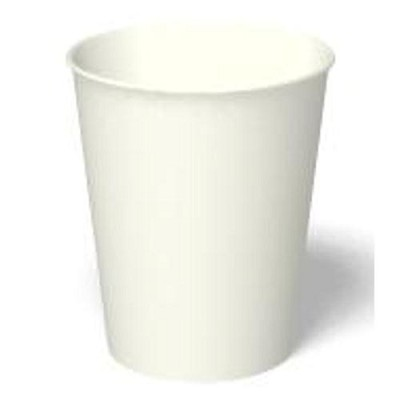 PAPER HOT CUP 8oz WHITE