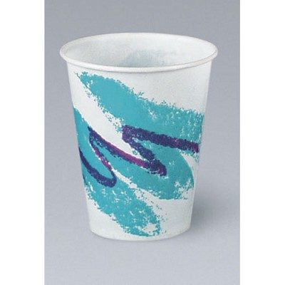 COLD WAXED CUP 9 oz